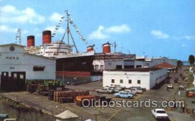 shi005237 - R.M.S. Queen Elizabeth Cunard Ship Ships Postcard Postcards