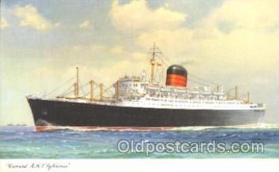 shi005250 - R.M.S. Lylvania Cunard Ship Ships Postcard Postcards