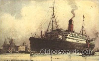 shi005252 - R.M.S.Franconia Cunard Ship Ships Postcard Postcards