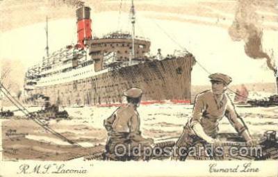 shi005253 - R.M.S. Laconia Cunard Ship Ships Postcard Postcards