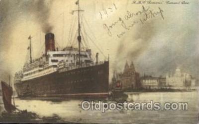 shi005262 - R.M.S. Lamaria Cunard Ship Ships Postcard Postcards