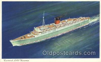 shi005265 - R.M.S. Caronia Cunard Ship Ships Postcard Postcards