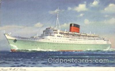 shi005278 - R.M.V. Caronia Cunard Ship Ships Postcard Postcards