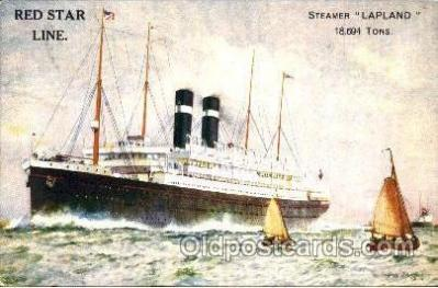 shi006005 - Steamer Lapland postcard postcards