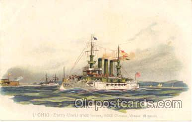 shi007012 - L'Ohio Ship Ships Postcard Postcards