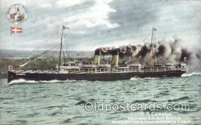 shi007150 - S.S. Cambria Ocean Liner, Ocean Liners, Oceanliner Ship Ships Postcard Postcards