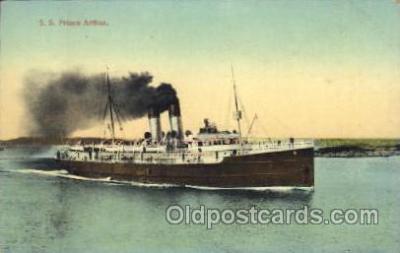 shi007153 - S.S. Prince Arthur Ocean Liner, Ocean Liners, Oceanliner Ship Ships Postcard Postcards