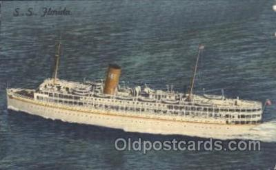 shi007154 - S.S. Florlida Ocean Liner, Ocean Liners, Oceanliner Ship Ships Postcard Postcards