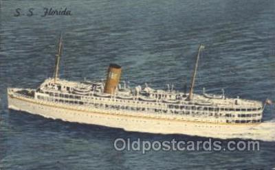 shi007157 - S.S. Florida Ocean Liner, Ocean Liners, Oceanliner Ship Ships Postcard Postcards
