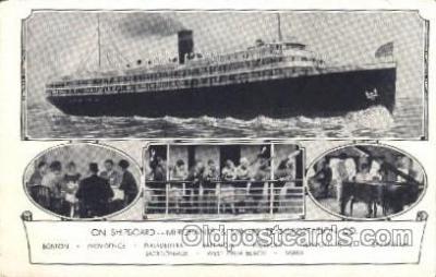 shi007158 - Merchants&Miners Transportation Ocean Liner, Ocean Liners, Oceanliner Ship Ships Postcard Postcards