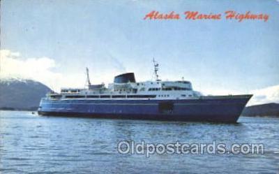 shi007160 - Alaska Marine Highway Ocean Liner, Ocean Liners, Oceanliner Ship Ships Postcard Postcards