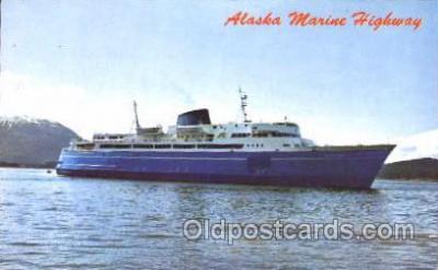 shi007164 - Alaska Marine Highway Ocean Liner, Ocean Liners, Oceanliner Ship Ships Postcard Postcards