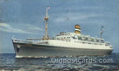 shi007180 - S.S. Ryndam Ocean Liner, Ocean Liners, Oceanliner Ship Ships Postcard Postcards