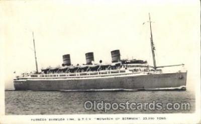shi007182 - Q.T.E.V. Monarch of Bermuda Ocean Liner, Ocean Liners, Oceanliner Ship Ships Postcard Postcards