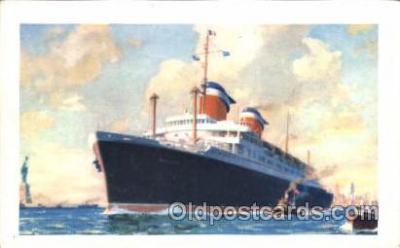 shi007203 - S.S. America Ocean Liner, Ocean Liners, Oceanliner Ship Ships Postcard Postcards