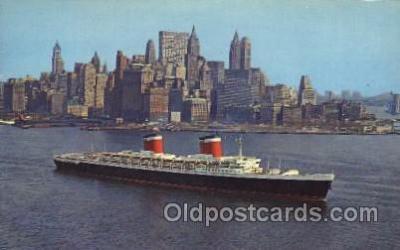 shi007209 - S.S. United States Ocean Liner, Ocean Liners, Oceanliner Ship Ships Postcard Postcards