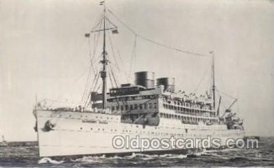 shi007225 - LL. Angibby Castle Ocean Liner, Ocean Liners, Oceanliner Ship Ships Postcard Postcards