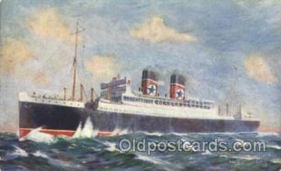 shi007230 - T.S.S. Andalucia Ocean Liner, Ocean Liners, Oceanliner Ship Ships Postcard Postcards
