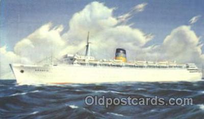 shi007236 - S.S. Arkadia Ocean Liner, Ocean Liners, Oceanliner Ship Ships Postcard Postcards
