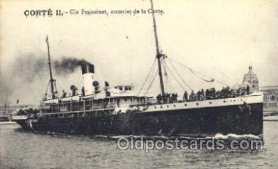 shi007238 - Corte II Ocean Liner, Ocean Liners, Oceanliner Ship Ships Postcard Postcards