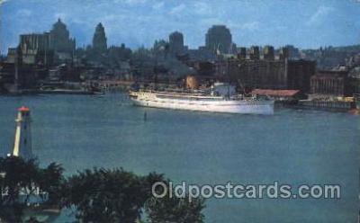 shi007240 - Montreal, P.Q., Canada Ocean Liner, Ocean Liners, Oceanliner Ship Ships Postcard Postcards