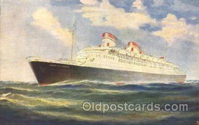 shi007246 - Italia - Flotte Riunite - Genova Ocean Liner, Ocean Liners, Oceanliner Ship Ships Postcard Postcards