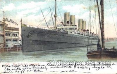 shi007253 - S.S. Deutschland New York, USA Ocean Liner, Ocean Liners, Oceanliner Ship Ships Postcard Postcards
