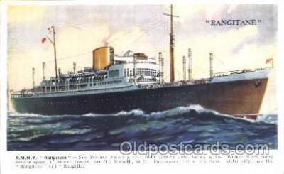 shi007255 - R.M.M.V. Rangitane Ocean Liner, Ocean Liners, Oceanliner Ship Ships Postcard Postcards