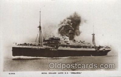 shi007263 - S.S. Zeelandia Ocean Liner, Ocean Liners, Oceanliner Ship Ships Postcard Postcards