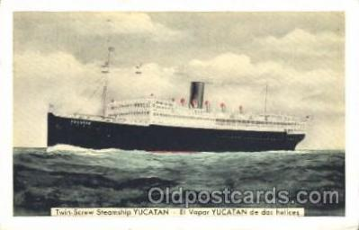 shi007276 - New York and Cuba Mail S.S. Ocean Liner, Ocean Liners, Oceanliner Ship Ships Postcard Postcards