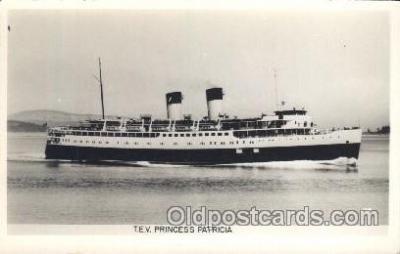 shi007278 - T.E.V Princess Patricia Ocean Liner, Ocean Liners, Oceanliner Ship Ships Postcard Postcards