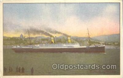 shi007290 - Lloyd Sabaudo Ocean Liner, Ocean Liners, Oceanliner Ship Ships Postcard Postcards