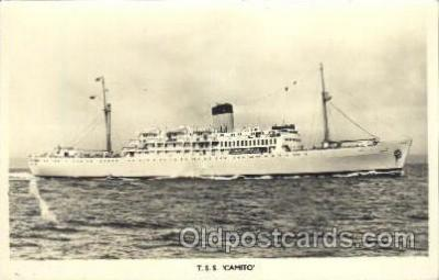 shi007297 - T.S.S. Camito Ocean Liner, Ocean Liners, Oceanliner Ship Ships Postcard Postcards