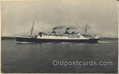 shi007308 - Conte Grande Ocean Liner, Ocean Liners, Oceanliner Ship Ships Postcard Postcards
