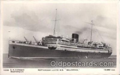 shi007321 - M.S. Baloeran Ocean Liner, Ocean Liners, Oceanliner Ship Ships Postcard Postcards