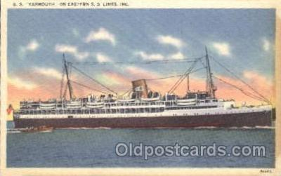 shi007324 - S.S. Yarmouth Ocean Liner, Ocean Liners, Oceanliner Ship Ships Postcard Postcards