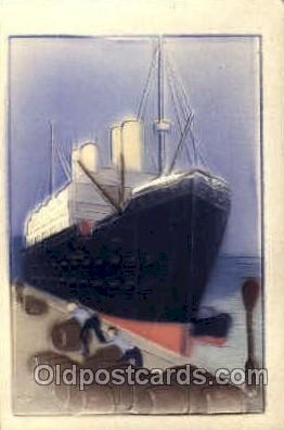 shi007328 - Ship Shps, Ocean Liners,  Postcard Postcards