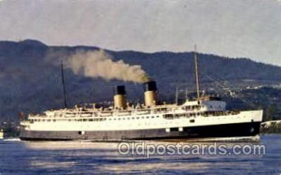 shi007335 - C.P.R. Princess Marguerite Ship Shps, Ocean Liners,  Postcard Postcards