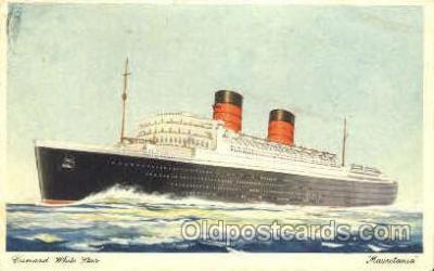 shi007346 - White Star Ship Shps, Ocean Liners,  Postcard Postcards