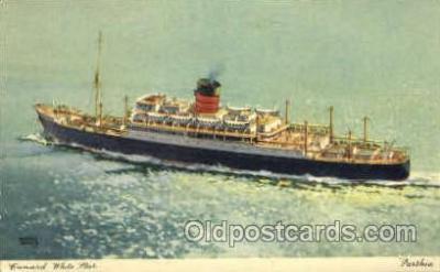 shi007348 - White Star Ship Shps, Ocean Liners,  Postcard Postcards