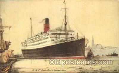 shi007350 - RMS Carinthia Ship Shps, Ocean Liners,  Postcard Postcards