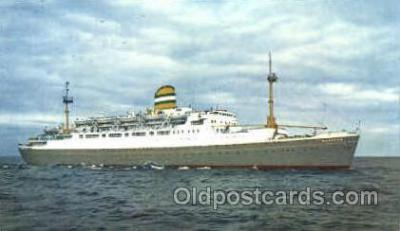 shi007357 - Maasdam, Holland-America line Ship Shps, Ocean Liners,  Postcard Postcards