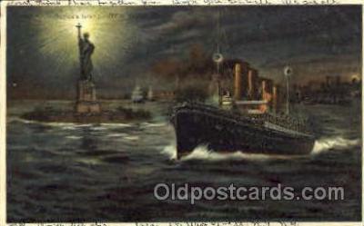shi007363 - New York, USA Ship Shps, Ocean Liners,  Postcard Postcards