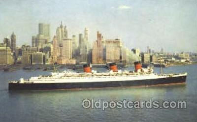 shi007365 - R.M.S. Queen Mary Ship Shps, Ocean Liners,  Postcard Postcards