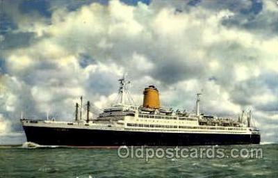 shi007370 - Vierschrauben T.S., Bremen Ship Shps, Ocean Liners,  Postcard Postcards