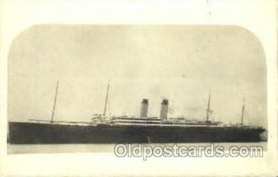 shi007373 - Ship Shps, Ocean Liners,  Postcard Postcards