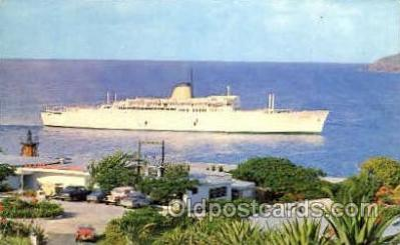 shi007376 - M/S Victoria Ship Shps, Ocean Liners,  Postcard Postcards
