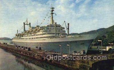 shi007395 - MV Rotterdam Ship Postcard Postcards