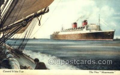 The New Mauretania