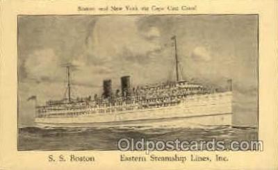 shi008058 - S.S. Boston Eastern Steamship Lines, Inc